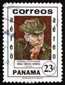 Postage stamp Panama 1982 General Omar Torrijos Herrera — Stock Photo