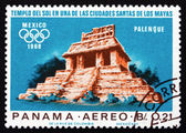 Postage stamp Panama 1967 Indian Ruins at Palenque Alban — Stock Photo