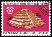 Postage stamp Panama 1967 Indian Ruins at Tajin — Stock Photo