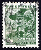 Postage stamp Austria 1934 Man from Carinthia — Stock Photo