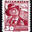 Stock Photo: Postage stamp Austri1934 Mfrom Styria