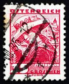Postage stamp Austria 1934 Woman from Styria — Stock Photo