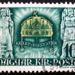 Stock Photo: Postage stamp Hungary 1940 Crown of St. Stephen