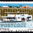 Postage stamp Australi1979 Passenger Steamer Canberra — Stock Photo #21214549