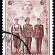 Stock Photo: Postage stamp Australi1940 Nurse, Sailor, Soldier and Aviator
