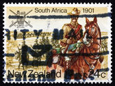 Postage stamp New Zealand 1984 South Africa War — Stock Photo