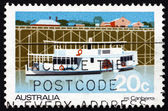 Postage stamp Australia 1979 Passenger Steamer Canberra — Stock Photo