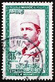 Postage stamp Morocco 1956 Sultan Mohammed V — Stock Photo