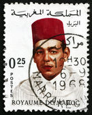 Postage stamp Morocco 1968 Hassan II, King of Morocco — Stock Photo