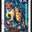 Stock Photo: Postage stamp Australi1997 Spotted-tailed Quoll, Tiger Quoll