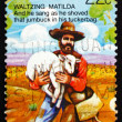 Postage stamp Australia 1980 Stealing Sheep - Foto de Stock