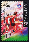 Postage stamp Australia 1996 St. Kilda Saints, Football Team — Stock Photo
