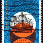 Postage stamp Australia 1966 Dutch Sailing Ship — Stock Photo