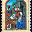 Postage stamp Australi1989 Adoration of Magi — Stock Photo #21439795