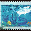Postage stamp Australia 1995 Giant Trevally, Marine Fish — 图库照片