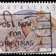 Postage stamp Australia 1991 Shepherd, Christmas — Stock Photo
