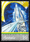 Postage stamp Australia 1987 America's Cup — Stock Photo