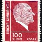 Postage stamp Turkey 1952 Mustafa Kemal Ataturk — Stock Photo #21526545
