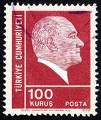 Postage stamp Turkey 1952 Mustafa Kemal Ataturk — Stock Photo