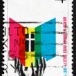 Postage stamp Australia 1966 Hands Reaching for Bible — Foto de Stock