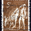 Postage stamp Australia 1963 Simpson and his Donkey - Stock Photo