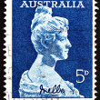 Postage stamp Australia 1961 Dame Nellie Melba, Singer - Stock Photo