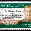 Postage stamp Canada 1968 Lt. Col. John McCrae - Stock Photo