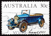 Postage stamp Australia 1984 Summit 1923, Vintage Car — Stock Photo