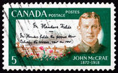 Postage stamp Canada 1968 Lt. Col. John McCrae — Stock Photo