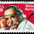 Stock Photo: Postage stamp US1991 William Saroyan, Dramatist and Writer