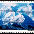 Stock Photo: Postage stamp USA 2001 View of Mt. McKinley