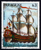 Postage stamp Paraguay 1976 Kaiser Leopold, 1667, Painting — Stock Photo