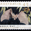 Stock Photo: Postage stamp Australi1992 Ghost Bat, Mammal