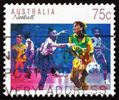 Postage stamp Australia 1991 Netball, Ball Sport — Stock Photo