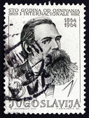 Postage stamp Yugoslavia 1964 Friedrich Engels, Political Theori — Stock Photo