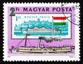 Postage stamp Hungary 1981 Passenger Ship Szechenyi, 1830 — Stock Photo