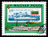 Postage stamp Hungary 1981 Passenger Ship Sofia, 1832 — Stock Photo