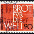 Postage stamp Germany 1962 Bread for the World — Stock Photo