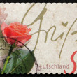 Postage stamp Germany 2003 Rose Flower, Valentine - Foto Stock