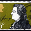 Postage stamp GB 1971 Thomas Gray, Writer — Stock Photo