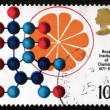 Royalty-Free Stock Photo: Postage stamp GB 1969 Vitamin C Synthesis