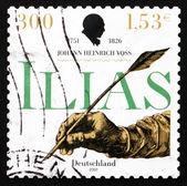 Postage stamp Germany 2001 Johann Heinrich Voss, Poet and Transl — Stock Photo