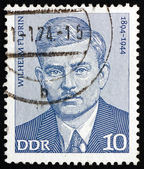 Postage stamp GDR 1974 Wilhelm Florin, Politician — Stock Photo