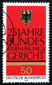 Postage stamp Germany 1976 German Eagle — Stock Photo