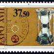 Postage stamp Portugal 1983 Hour Glass — Stock Photo