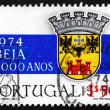 Postage stamp Portugal 1972 Coat of Arms of Beja — Stock Photo