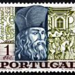 Stock Photo: Postage stamp Portugal 1968 Bento de Goes, Jesuit Brother
