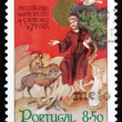 Royalty-Free Stock Photo: Postage stamp Portugal 1982 St. Francis of Assisi with Animals