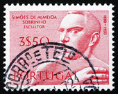 Postage stamp Portugal 1971 Jose Simoes de Almeida, Portuguese S — Stock Photo