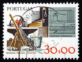 Postage stamp Portugal 1978 Steel Industry — Stock Photo